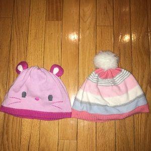 Gymboree Stocking Hats LOT Bundle 4T 5T Size Small